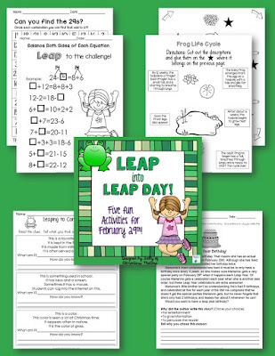 Fun activities for leap year day