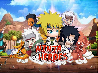 Download Game Unduh Ninja Heroes Apk v1.7.7 ( Mega MOD+GOLD ) Update