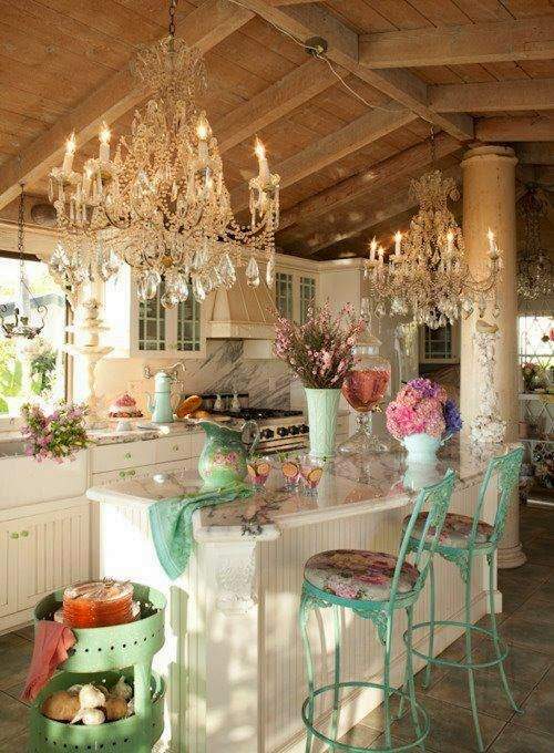 Fotos de cocinas shabby chic colores en casa - Cocinas estilo shabby chic ...