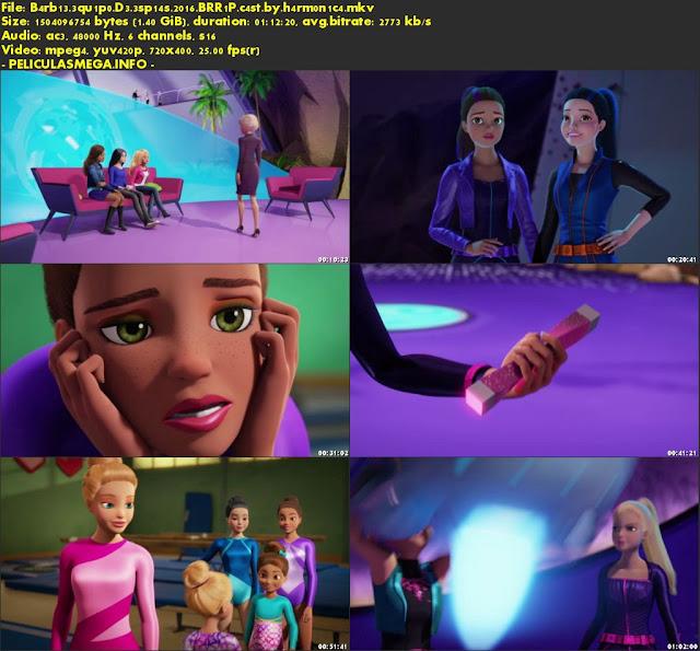 Descargar Barbie: Equipo de Espías Castellano por MEGA.