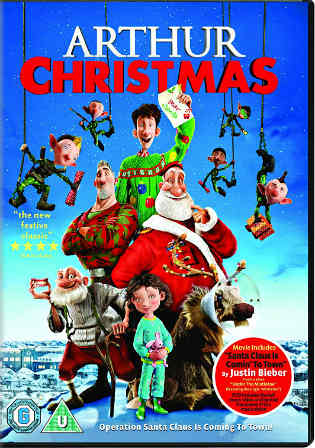 Arthur Christmas 2011 BRRip 700MB Hindi Dual Audio 720p ESub Watch Online Full Movie Download bolly4u