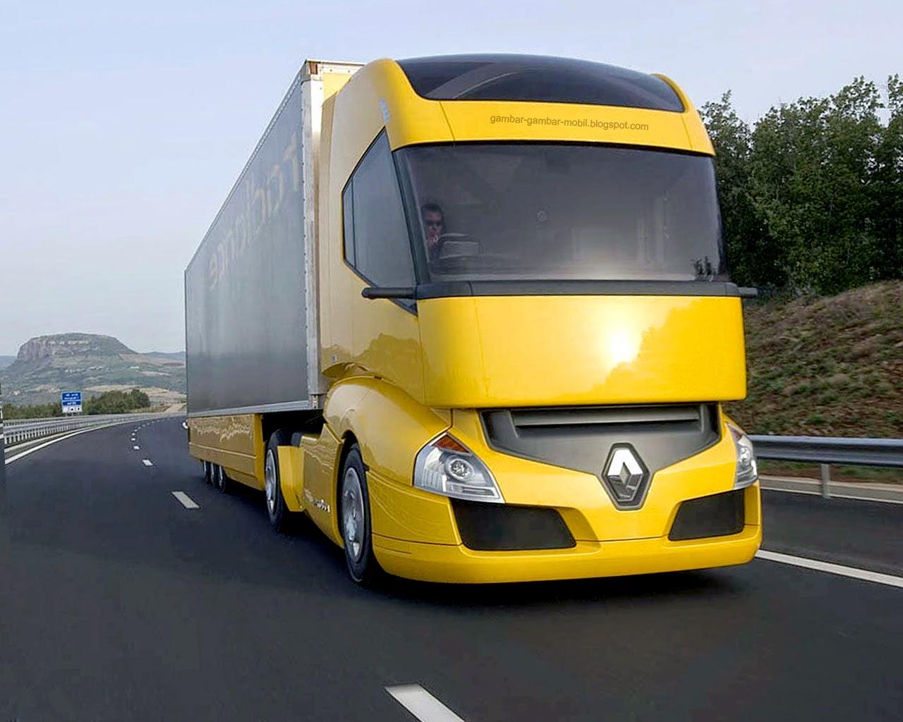 Gambar mobil truk besar  Gambar Gambar Mobil
