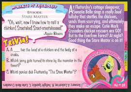 "My Little Pony ""Hush Now Quiet Now"" Series 1 Trading Card"