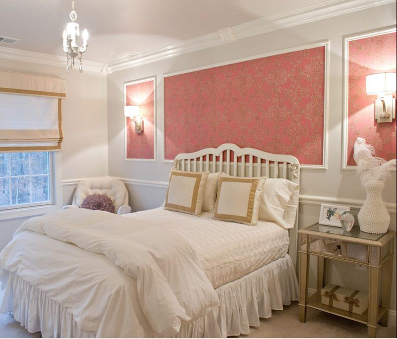 Bedroom Decor Picture Frames Small Bedroom Chairs Ikea Little Boy Bedroom Decorating Ideas Bedroom Black And Purple: JLL DESIGN: Wallpaper As Art