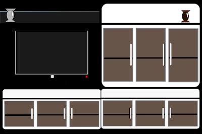 cara membuat meja tv dari palet