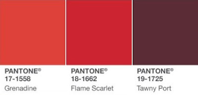 Fashion | The Autumn Winter 17 Trend Report Pantone Red Palette