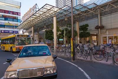 East Exit, Matsubara-danchi Station, Tobu Skytree Line, Saitama.