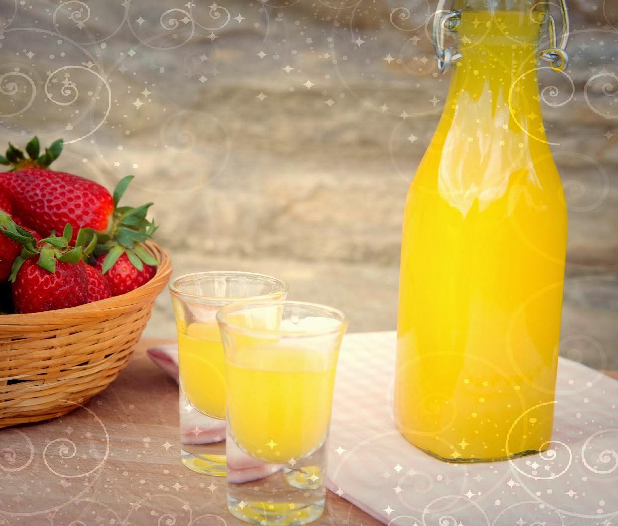 how to make limoncello using vodka