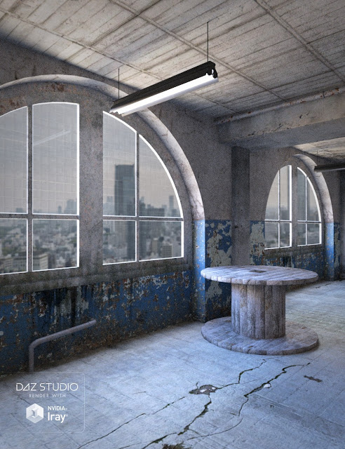 Old Industrial Interior