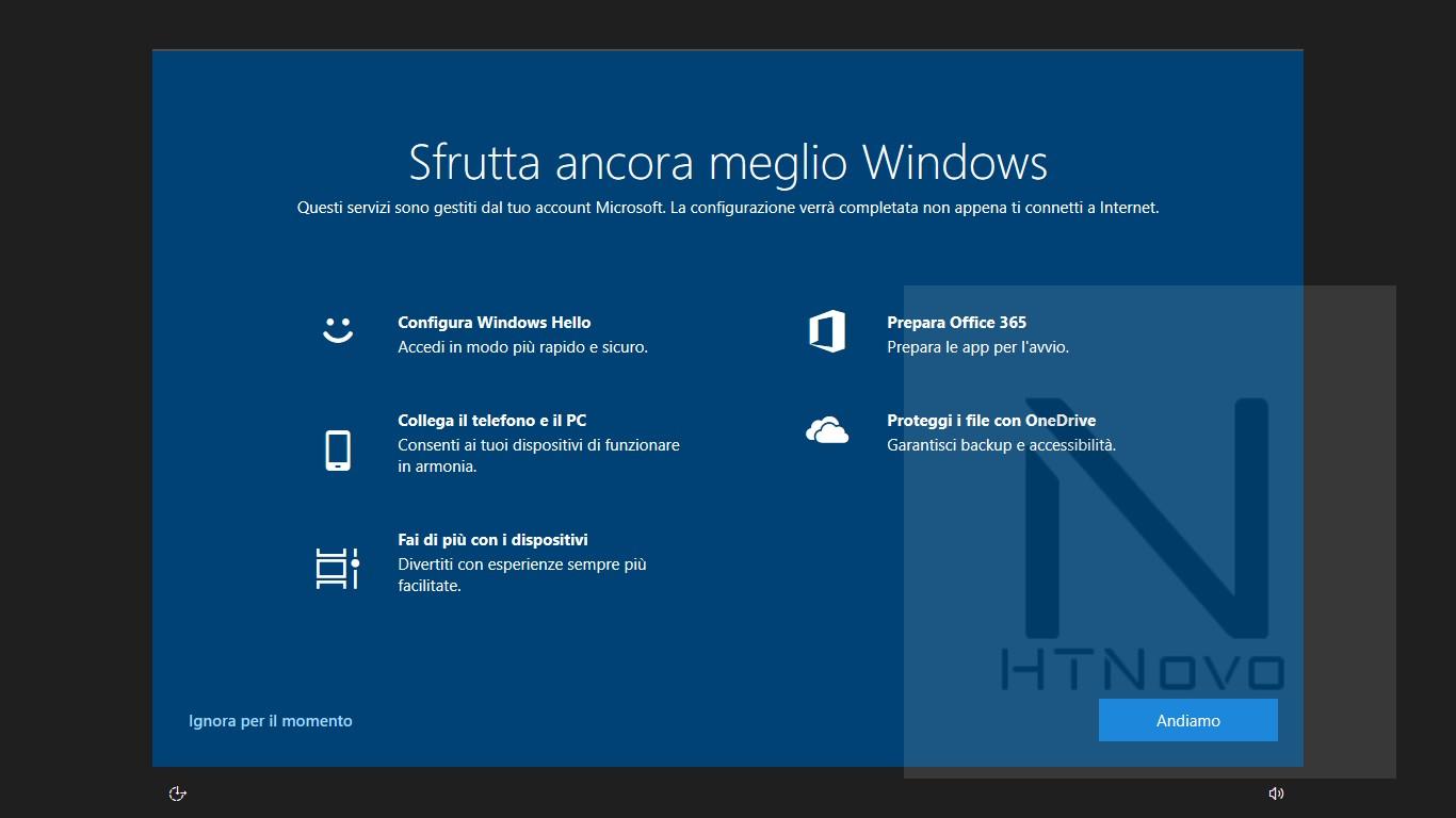 Windows-10-1903-schermate-oobe-dopo-installazione