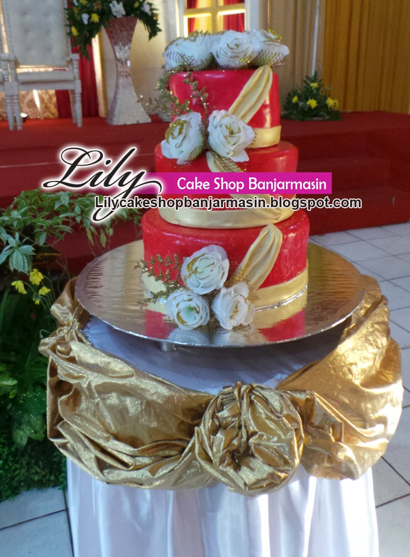 Lily Cake Shop Banjarmasin Wedding Cake Kue Pengantin