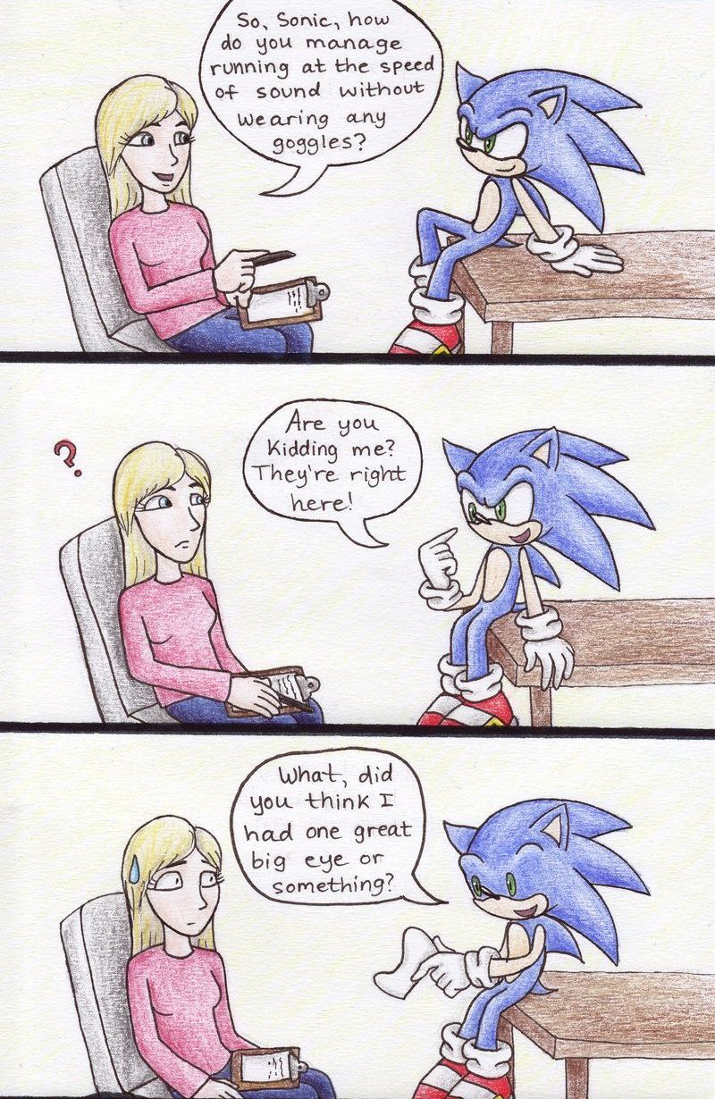 The truth about Sonic's eyes