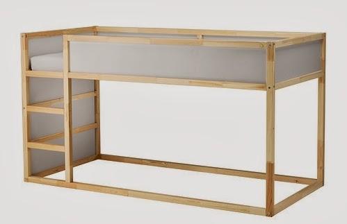 Camerette per bambini - struttura Kura di Ikea ~ Le creazioni di Marzia