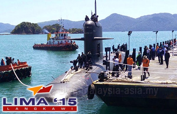 Submarine at LIMA 2015