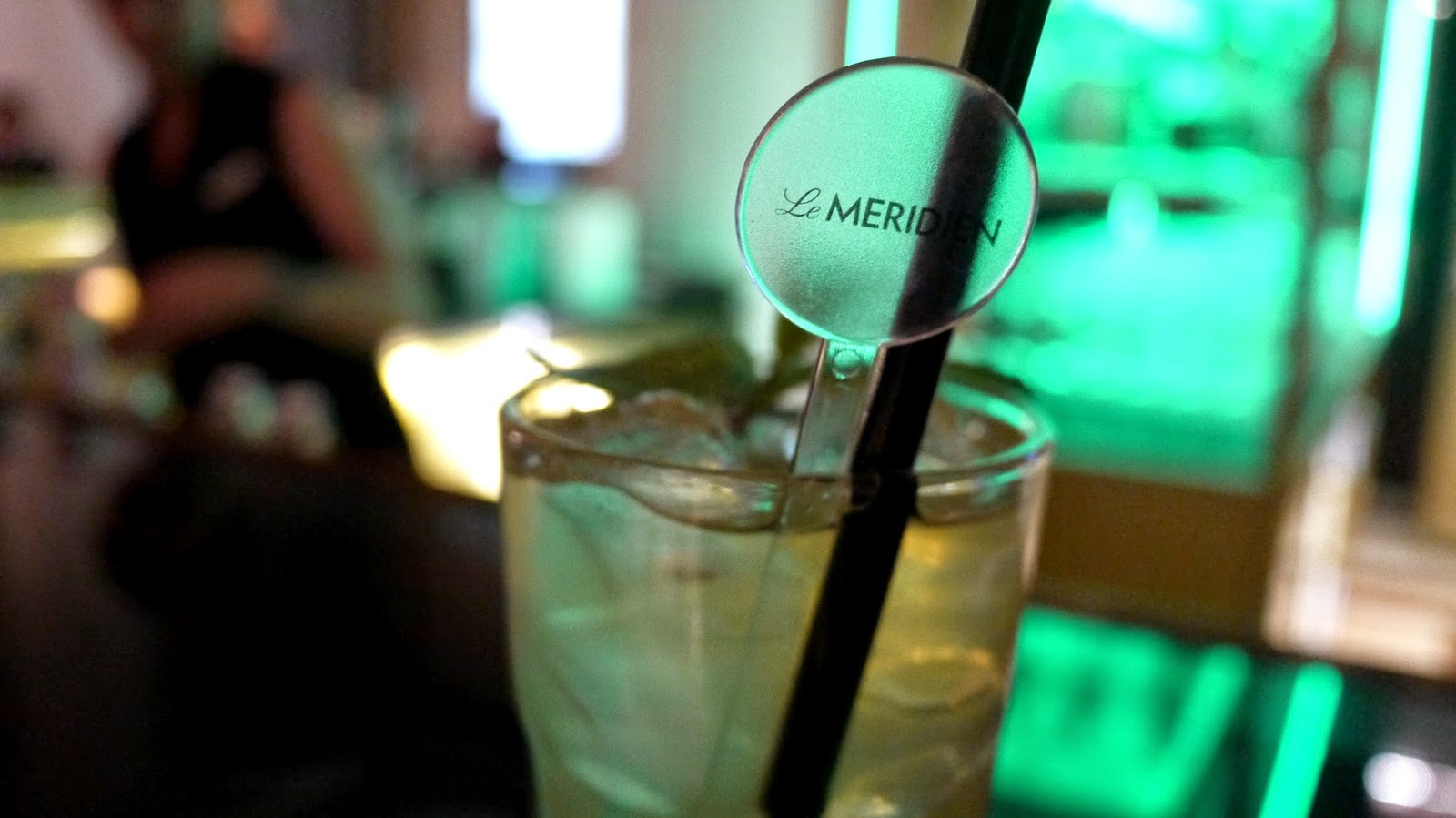 Le Meridien Budapest cocktail bar