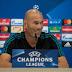 """Zidane: """"Pode se dizer que falte um nove, pode ser, mas acredito no Mayoral"""""""