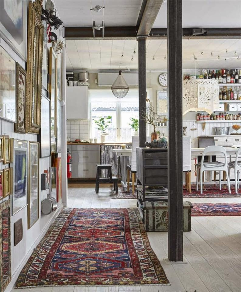 Swedish Country Home Decor: Bohemian Style Country House In Sweden