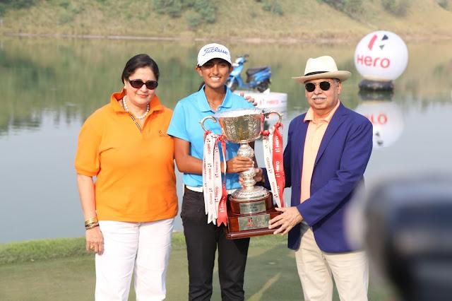 Hero Women's Indian Open 2016 winner Aditi Ashok