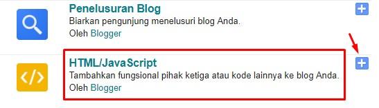 Cara Membuat Tombol Follow atau Link Follow di Blogger