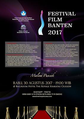 Formulir - Festival Film Banten 2017
