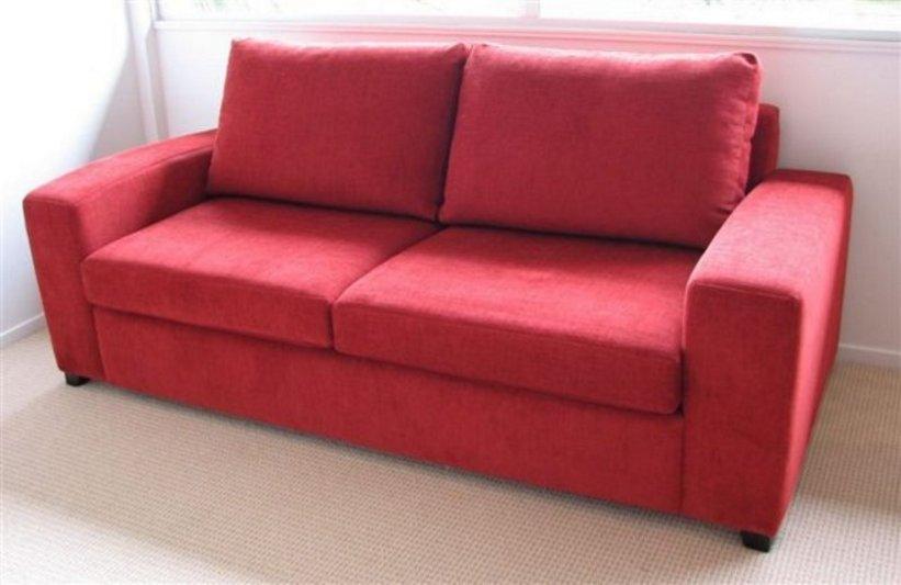 sofa ruang tamu merah 1