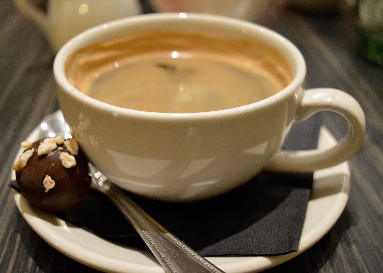 The Brasserie at the Grand Hotel, Tynemouth | New Tasting Menu review  - coffee and chocolates