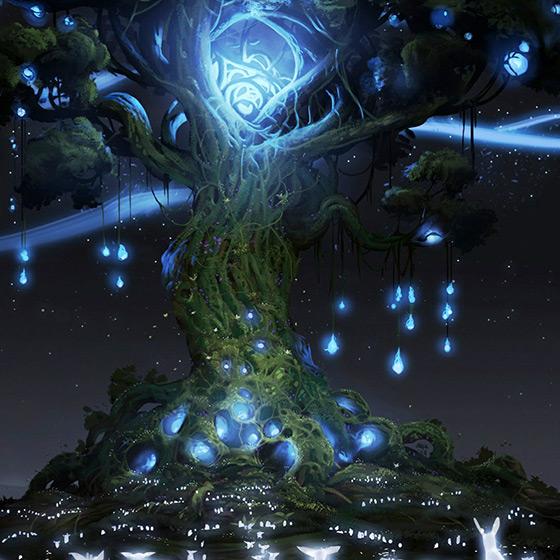 Ori And Magic Tree Wallpaper Engine