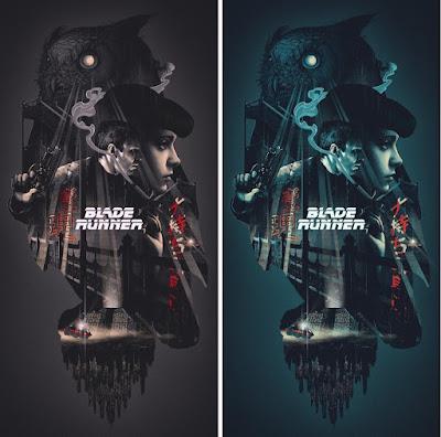 Blade Runner Movie Poster Screen Print by John Guydo x Bottleneck Gallery
