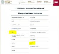 liste des donateurs à la fondation Nicolas Hulot