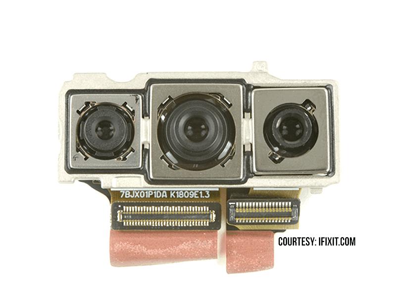 iFixit teardowns Huawei P20 Pro and discovers triple OIS camera sensors!