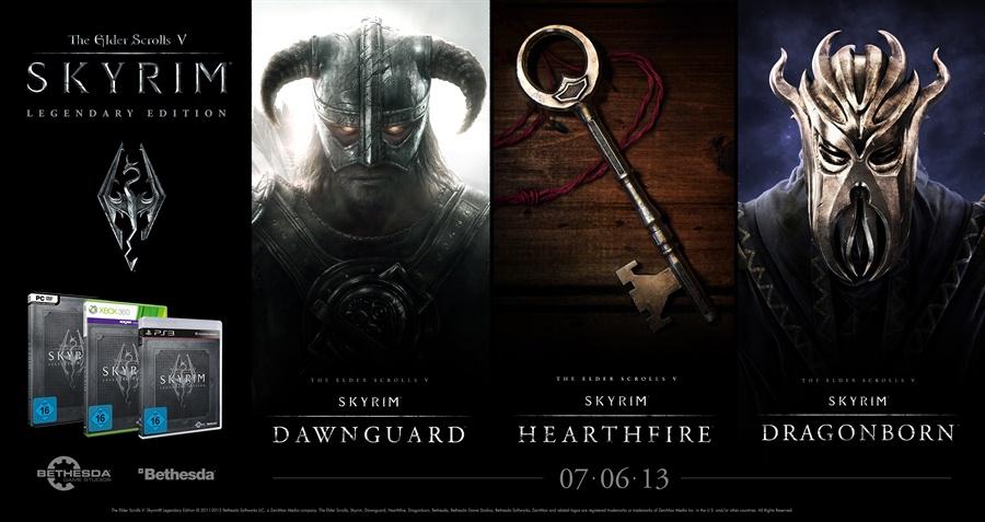 The Elder Scrolls V Skyrim Legendary Edition Poster