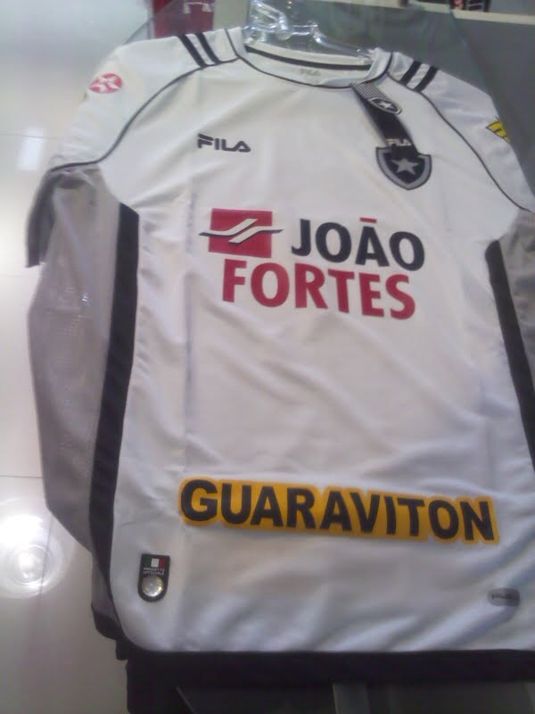Camisa Oficial do Botafogo 2011 2012 - BRANCA 587f3d4ffd151