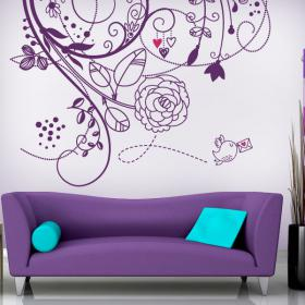 Flowers on The Wall 4
