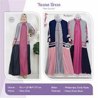 Jual Baju Busana Muslim Yazna Dress