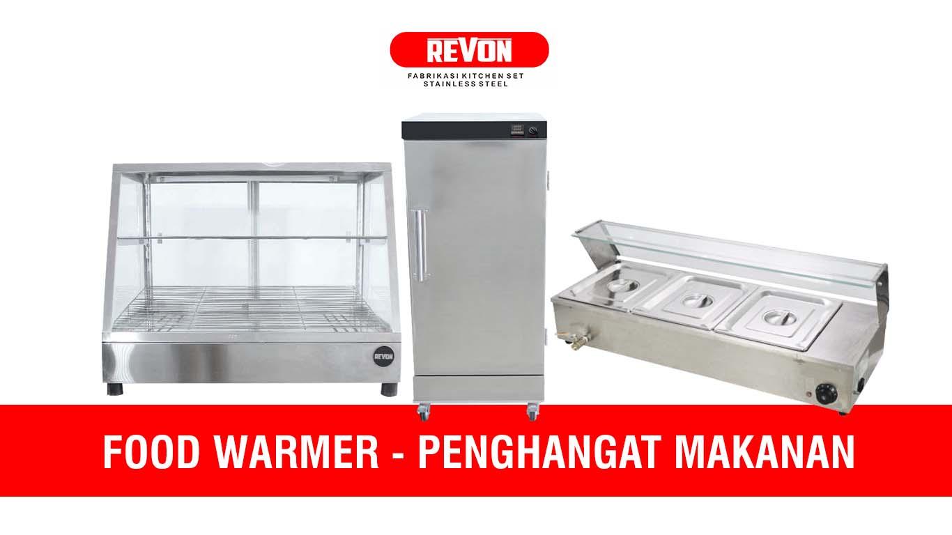 Food Warmer Murah (Penghangat Makanan) Merek Revon