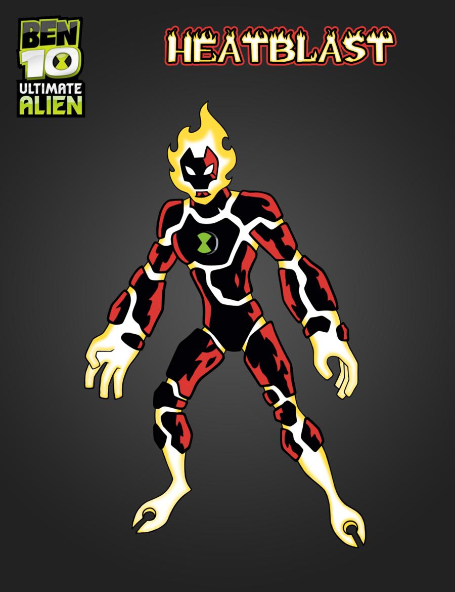 Ben 10 Alien Ben Tennison As Heatblast