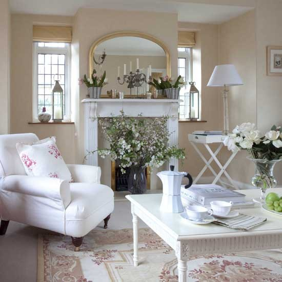 Beautiful Living Room Decor: New Home Interior Design: Be Inspired By This Elegant