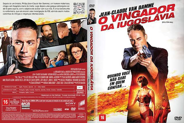 Capa DVD O Vingador da Iugoslávia [Exclusiva]