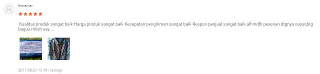 Testimonial Batik