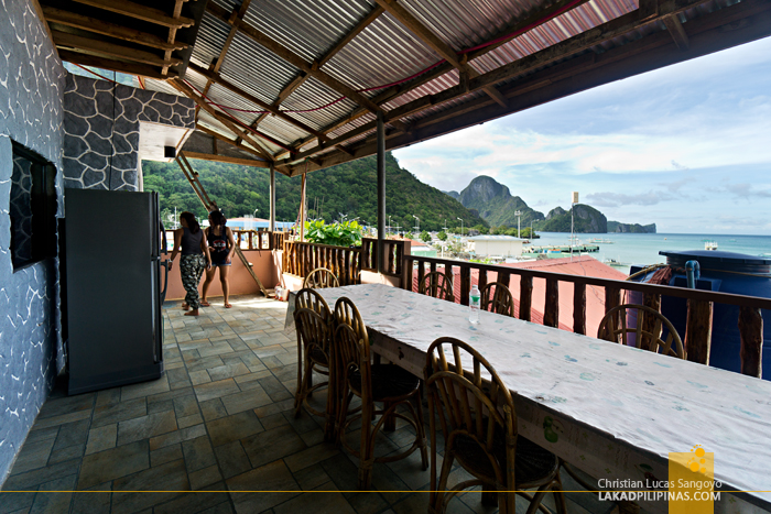 Northern Hope Inn El Nido Palawan Roof Deck
