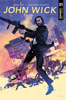 Dynamite Entertainment John Wick Comic Book Series