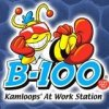 B100 - Kamloops' at work station