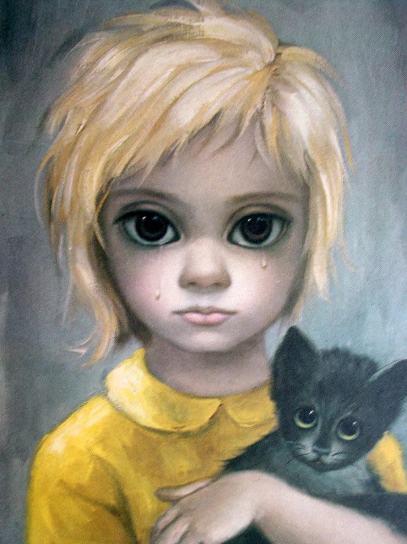 Big Eyes - The Painters Keys  |Artist Keane Big Eyes