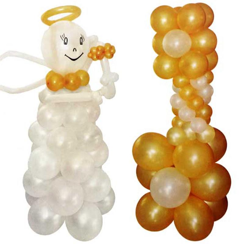 Adornos con globos para Primera Comunión (5)