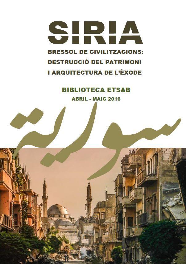 Tocho t8 exposici n de libros sobre siria en la - Escuela de arquitectura de barcelona ...