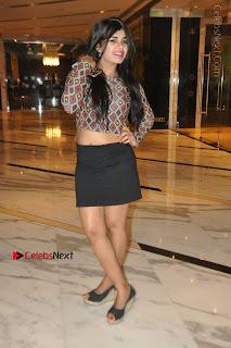 Indian Actress Model Naveena Jackson Latest Po Gallery in Black Mini Skirt  0024.JPG