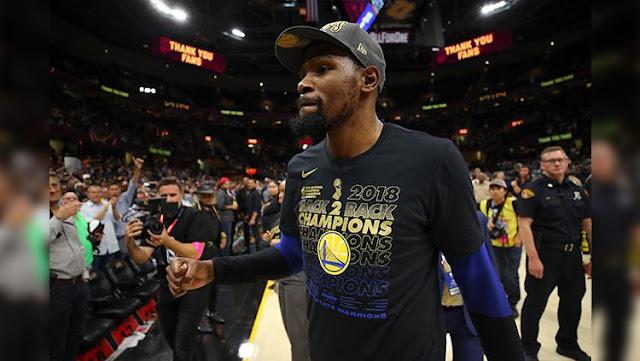 Kevin Durant berhasil membawa Golden State Warriors mengalahkan Cleveland Cavaliers