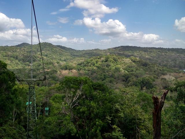 Parque Nacional Soberanía desde la Góndola de Gamboa