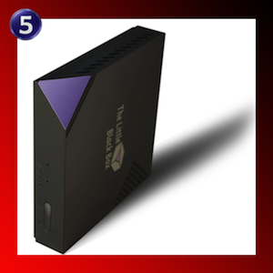The Little Black Box Media Server for Linux & XBMC Streaming