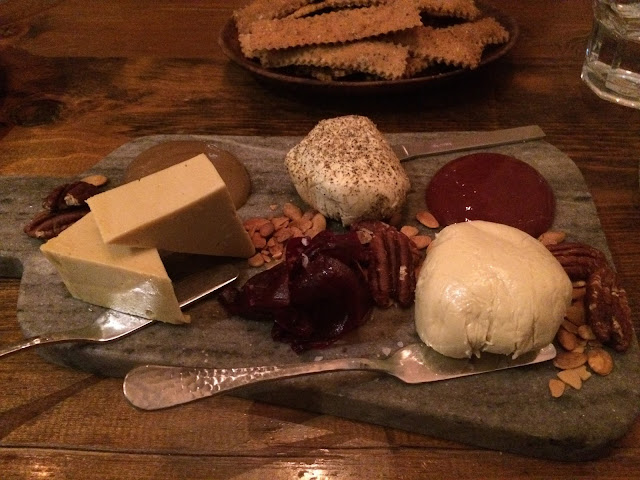 cheese plate - Tori's After Hours